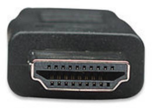 Manhattan HDMI Aansluitkabel [1x HDMI-stekker - 1x HDMI-stekker] 7.50 m Zwart