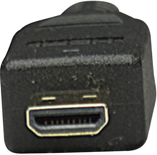 Manhattan HDMI Aansluitkabel [1x HDMI-stekker - 1x HDMI-stekker D micro] 2 m Zwart