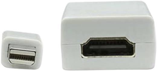 HDMI / DisplayPort Adapter [1x Mini-DisplayPort stekker - 1x HDMI-bus] Wit Manhattan