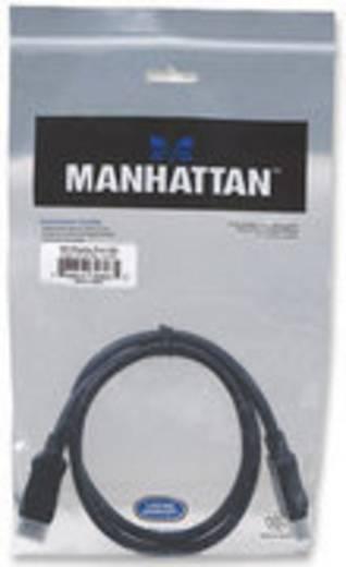 DisplayPort Aansluitkabel Manhattan [1x DisplayPort stekker - 1x DisplayPort stekker] 1 m Zwart