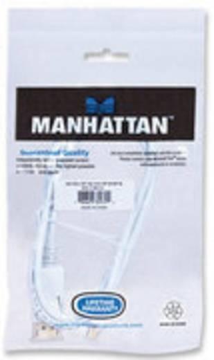 DisplayPort Aansluitkabel Manhattan [1x Mini-DisplayPort stekker - 1x DisplayPort stekker] 1 m Wit