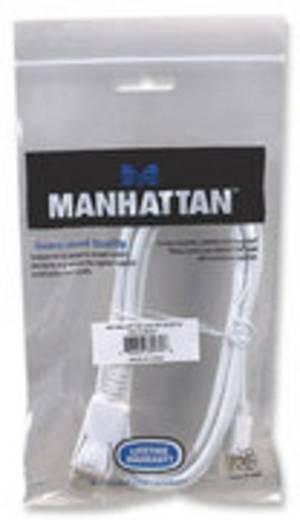 Manhattan DisplayPort Aansluitkabel [1x Mini-DisplayPort stekker - 1x DisplayPort stekker] 2 m Wit