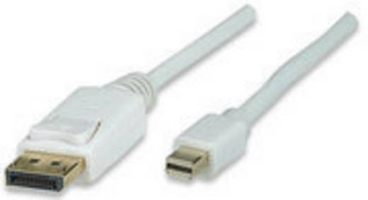 DisplayPort Aansluitkabel Manhattan [1x Mini-DisplayPort stekker - 1x DisplayPort stekker] 3 m Wit