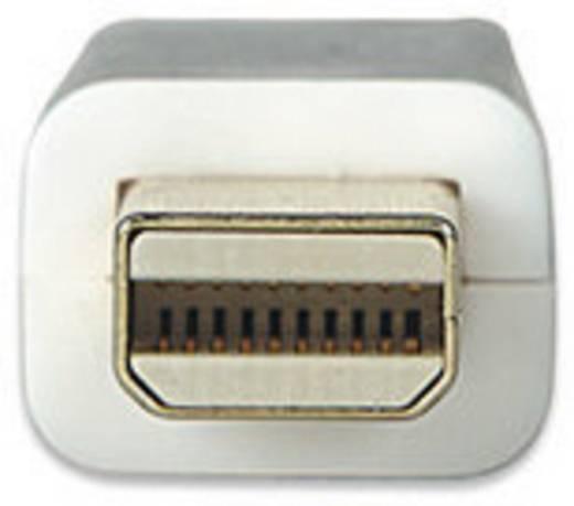 Manhattan DisplayPort Aansluitkabel [1x Mini-DisplayPort stekker - 1x DisplayPort stekker] 3 m Wit