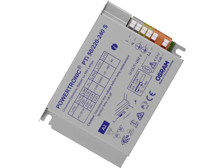 OSRAM Compact Elektronisch voorschakelapparaat Geschikt voor Hogedruklamp 50 W (1 x 50 W) Behuizing