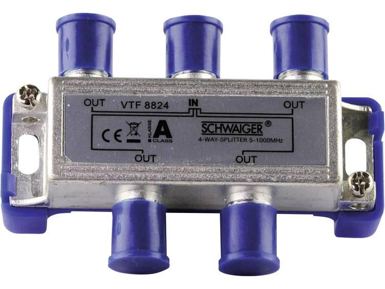 Schwaiger VTF8824 Kabel-TV verdeler 4-voudig