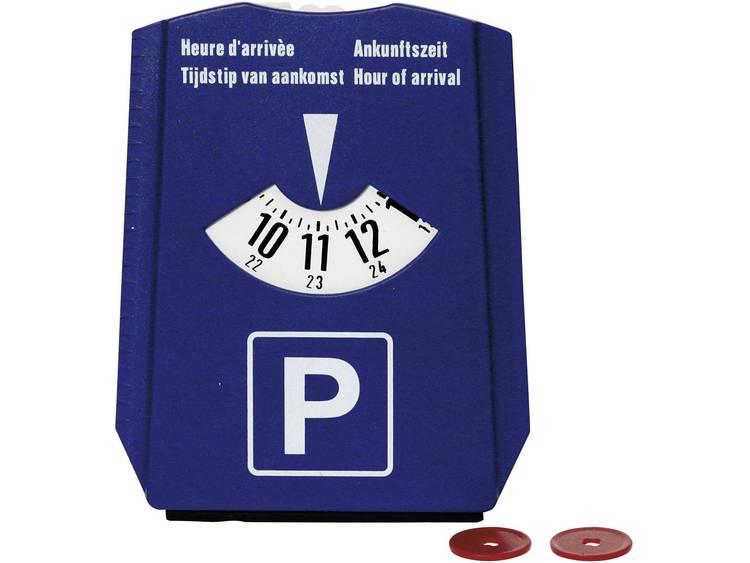 DINO IJskrabber met parkeerschijf Blauw