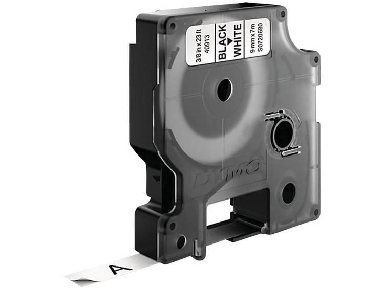 DYMO 40913 Labeltape Tapekleur: Wit Tekstkleur: Zwart 9 mm 7 m