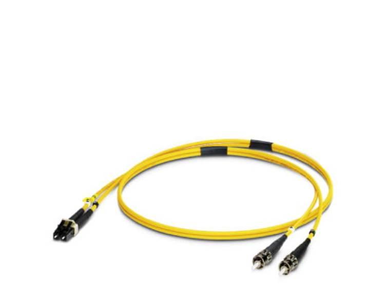 Kabel Phoenix Contact Glasvezel [1x ST-stekker - 1x LC-stekker] 9/125µ 1 m