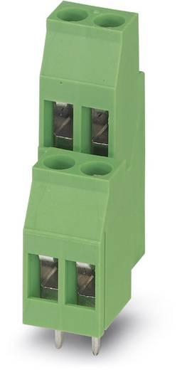 Dubbeldeksklem 2.50 mm² Aantal polen 4 MKKDS 3/ 2-5,08 Phoenix Contact Groen 50 stuks