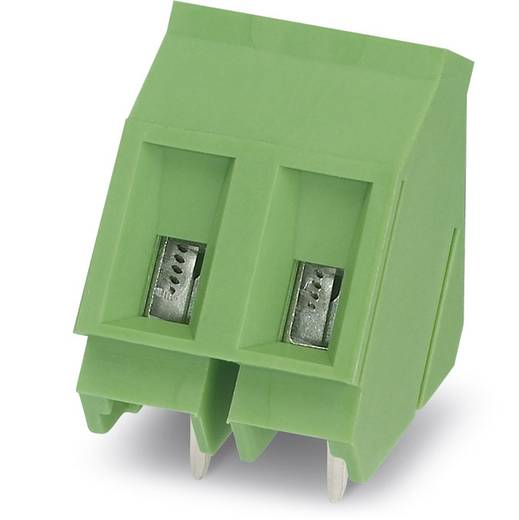Klemschroefblok 2.50 mm² Aantal polen 3 GSMKDS 3/ 3-7,62 Phoenix Contact Groen 100 stuks