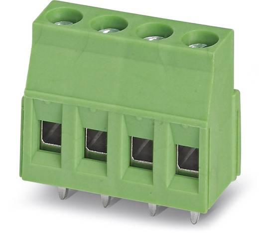 Klemschroefblok 2.50 mm² Aantal polen 10 MKDSN 2,5/10 Phoenix Contact Groen 50 stuks