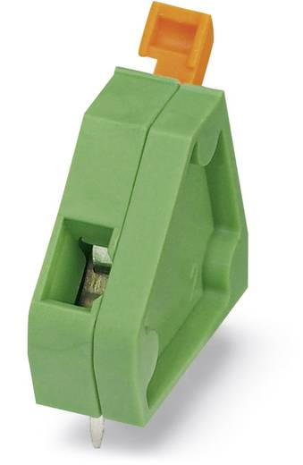 Veerkachtklemblok 1.00 mm² Aantal polen 1 ZFKDSA 1 W 6.35 Phoenix Contact Groen 50 stuks