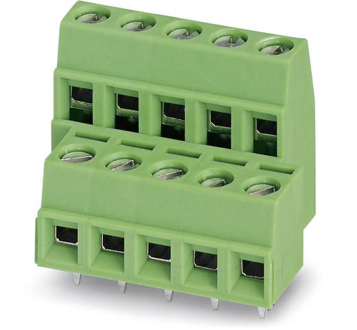 Klemschroefblok 1.50 mm² Aantal polen 2 MKKDSNH 1,5/ 2-5,08 ANG.SCHR. Phoenix Contact Groen 50 stuks