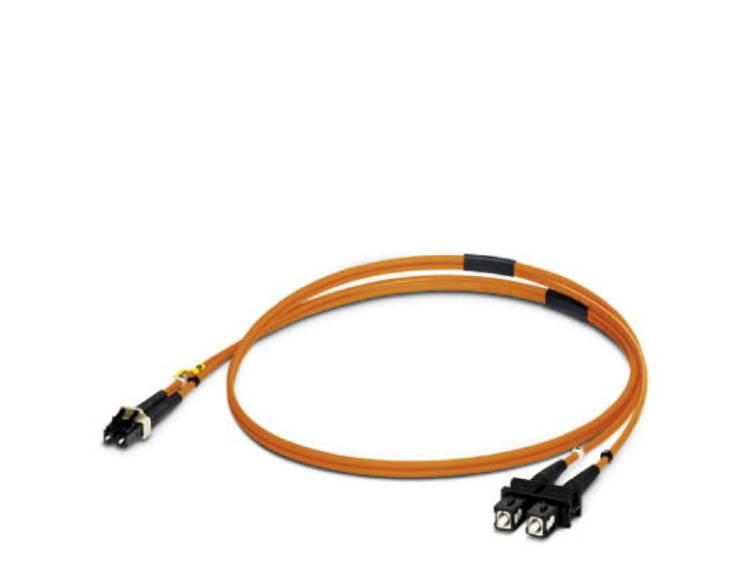 Kabel Phoenix Contact Glasvezel [1x LC-stekker - 1x SC-stekker] 50/125µ 1 m