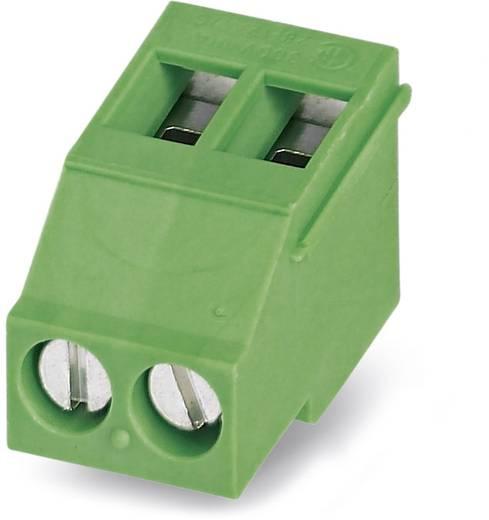 Klemschroefblok 2.50 mm² Aantal polen 2 MKDSF 3/ 2 Phoenix Contact Groen 50 stuks