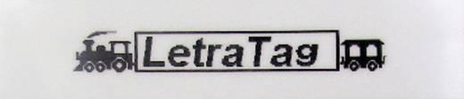 DYMO 91221 Labeltape Tapekleur: Parel-wit Tekstkleur:Zwart 12 mm 4 m