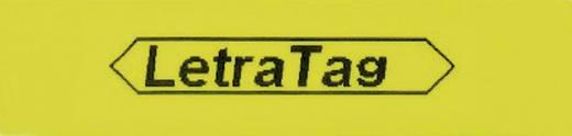 DYMO 91222 Labeltape Tapekleur: Hyper-geel Tekstkleur:Zwart 12 mm 4 m