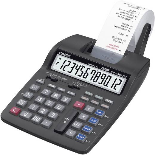 Casio HR-150 TER rekenmachine