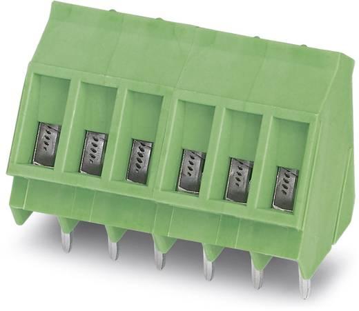 Klemschroefblok 2.50 mm² Aantal polen 2 SMKDS 3/ 2-5,08 Phoenix Contact Groen 100 stuks