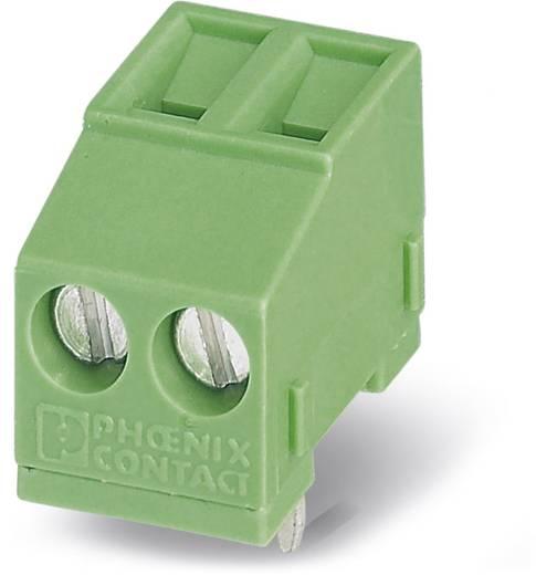 Klemschroefblok 1.50 mm² Aantal polen 2 MKDSFW 1,5/ 2 Phoenix Contact Groen 50 stuks