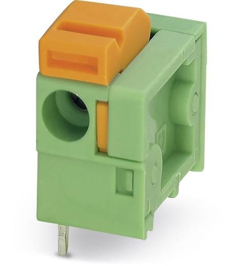 Veerkachtklemblok 1.50 mm² Aantal polen 1 FFKDSA / H1-7,62 Phoenix Contact Groen 250 stuks