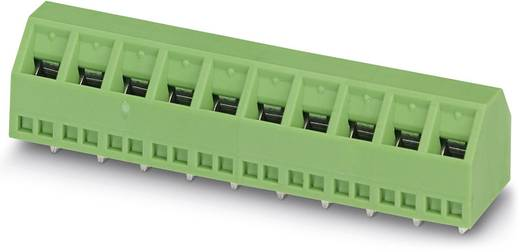 Klemschroefblok 1.50 mm² Aantal polen 12 SMKDSN 1,5/12 Phoenix Contact Groen 50 stuks