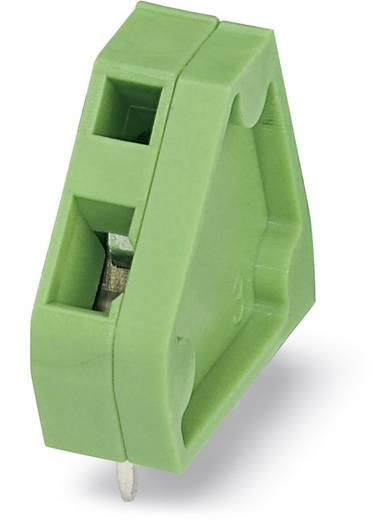 Veerkachtklemblok 1.00 mm² Aantal polen 1 ZFKDSA 1-6,35 Phoenix Contact Groen 50 stuks