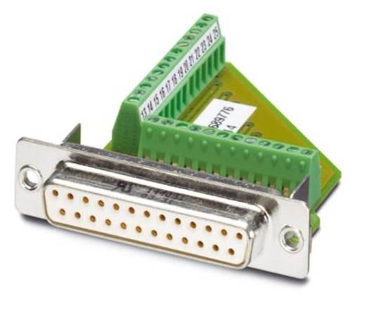 Phoenix Contact VS-25-BU-DSUB/25-MPT-0,5 D-SUB bus connector 180 ° Aantal polen: 25 Schroeven 10 stuks