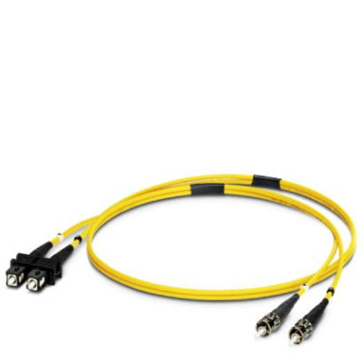 Kabel Phoenix Contact Glasvezel [1x SC-stekker - 1x ST-stekker] 9/125µ 2 m