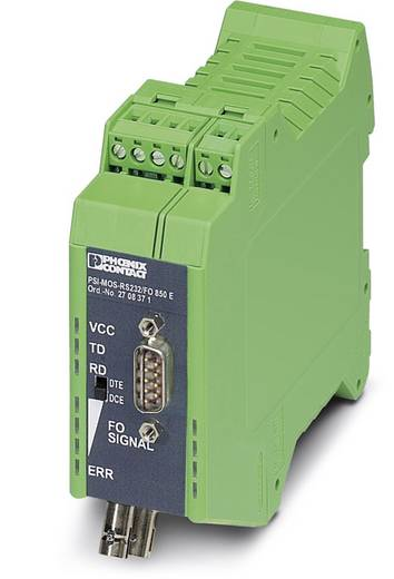 Phoenix Contact PSI-MOS-RS232 / FO 850 E Glasvezelconverter Glasvezelconverter