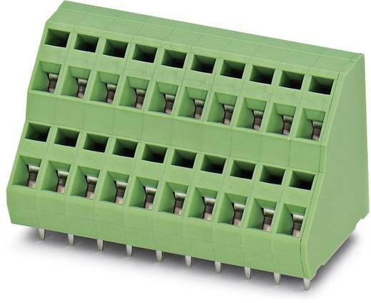 Dubbeldeksklem 1.50 mm² Aantal polen 2 ZFKKDS 1,5-5,08 Phoenix Contact Groen 100 stuks
