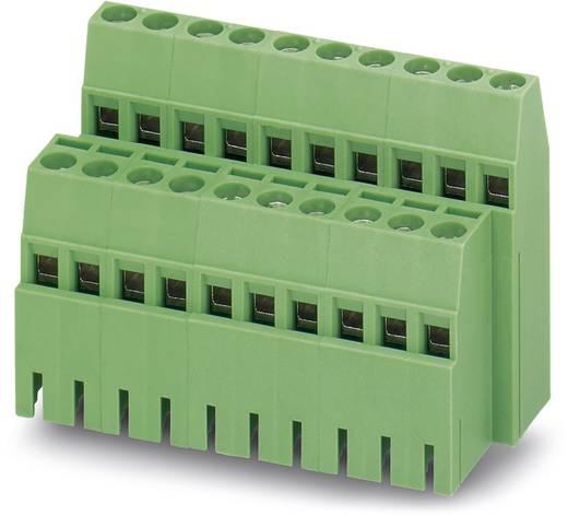 Dubbeldeksklem 1.50 mm² Aantal polen 4 MK3DS 1,5/ 2-5,08-BC Phoenix Contact Groen 50 stuks