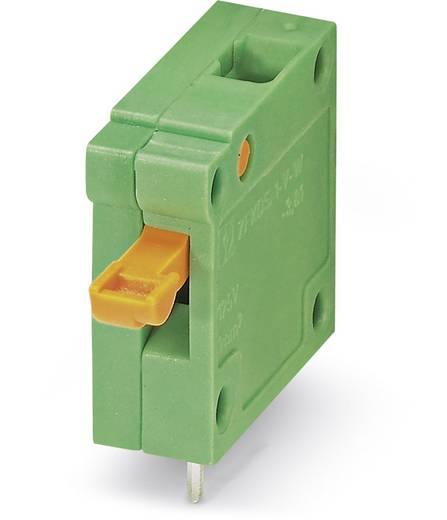 Veerkachtklemblok 1.00 mm² Aantal polen 1 ZFKDSA 1-V-W-6,35 Phoenix Contact Groen 50 stuks