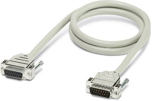 Phoenix Contact CABLE-D15SUB/B/S/ 50/KONFEK/S CABLE-D15SUB / B / S / 50 / KONFEK / S - kabel Inhoud: 1 stuks