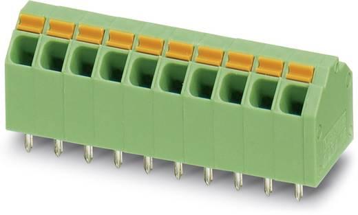 Veerkachtklemblok 1.50 mm² Aantal polen 10 SPTA 1.5 / 10-3,81 Phoenix Contact Groen 50 stuks