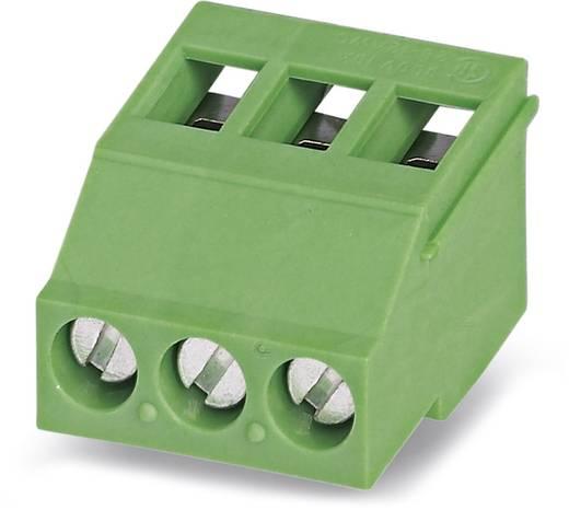 Klemschroefblok 2.50 mm² Aantal polen 3 MKDSF 3/ 3-5,08 Phoenix Contact Groen 50 stuks