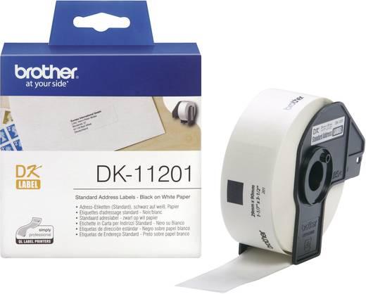 Brother Etiketten (rol) 90 x 29 mm Papier Wi