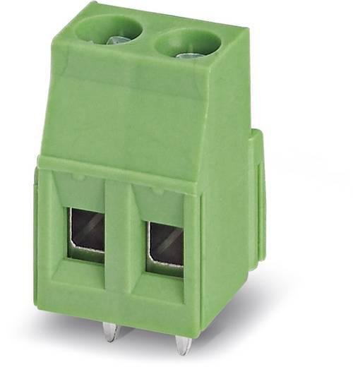 Klemschroefblok 2.50 mm² Aantal polen 2 MKDSN 2,5/ 2-5,08 Phoenix Contact Groen 250 stuks