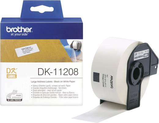 Brother Etiketten (rol) 90 x 38 mm Papier Wi
