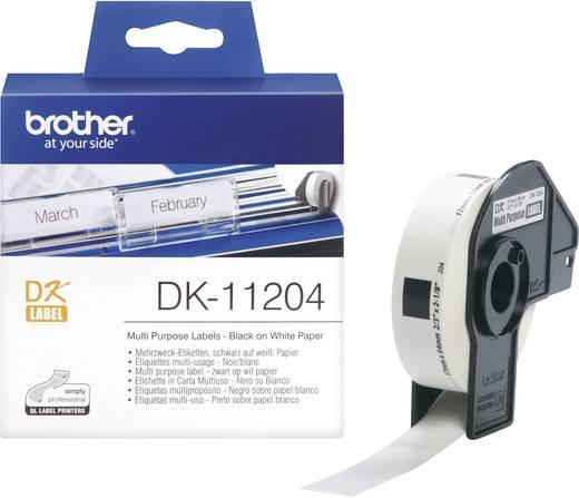 Brother Etiketten (rol) 54 x 17 mm Papier Wi