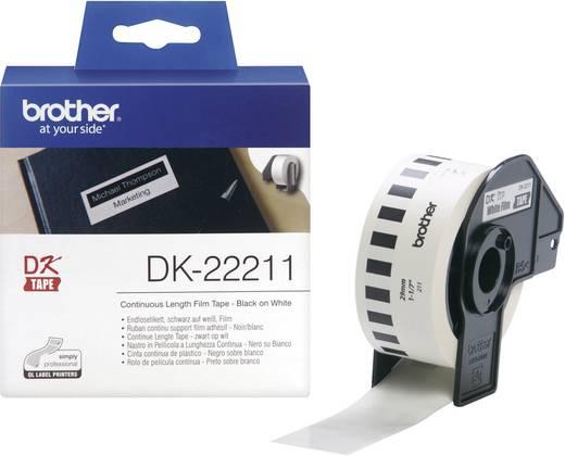 Brother Etiketten (rol) 29 mm x 15.24 m Folie