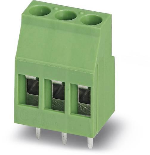 Klemschroefblok 2.50 mm² Aantal polen 3 MKDS 3/ 3-B-5,08 Phoenix Contact Groen 50 stuks