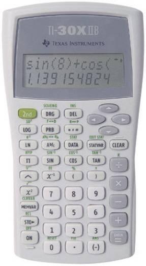 Texas Instruments 30XIIB/TBL/5E!/A/DE/DE Schoolcalculator TI 36 X II