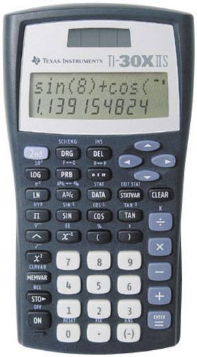 Texas Instruments schoolrekenmachine TI 30 X II S