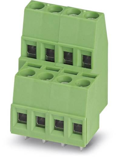 Dubbeldeksklem 1.50 mm² Aantal polen 4 MKKDS 1,5/ 2 Phoenix Contact Groen 100 stuks