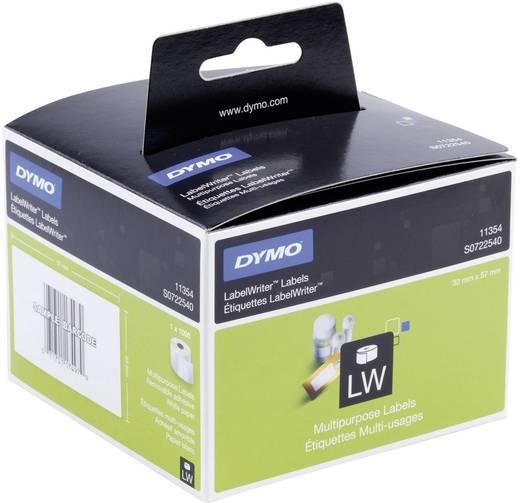 DYMO Etiketten (rol) 57 x 32 mm Papier Wit<b