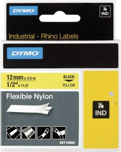 DYMO 18490 Labeltape Tapekleur: Geel Tekstkleur:Zwart 12 mm 3.5 m
