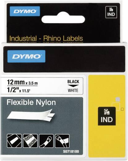 DYMO 18758 Labeltape Tapekleur: Wit Tekstkleur: Zwart 12 mm 3.5 m