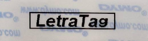 DYMO 16951 Labeltape Tapekleur: Transparant Tekstkleur:Zwart 12 mm 4 m